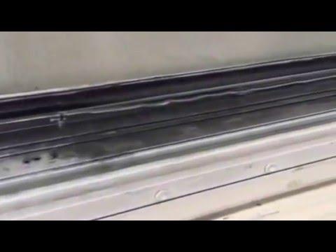 Damaged Sliding Glass Door Track