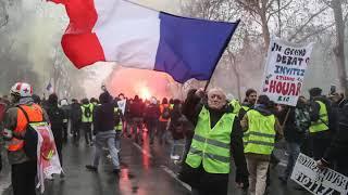 Żółte kamizelki BITWA OSTATECZNA - REWOLUCJA?  przegląd wydarzeń z Francji
