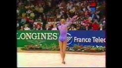 Magdalena BRZESKA (GER) ball - 1995 Vienna worlds EF