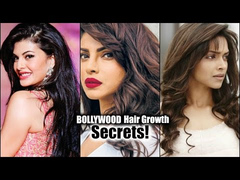 BOLLYWOOD ACTRESS HAIR GROWTH SECRETS!! │ How to get Long, Thick, Healthy Hair at Home Naturally!