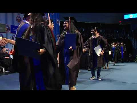 2017 December Commencement - College of Business - PART 2