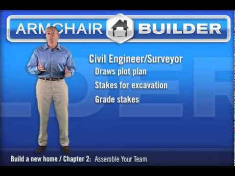 How to Build a House. The Civil Engineer's Role