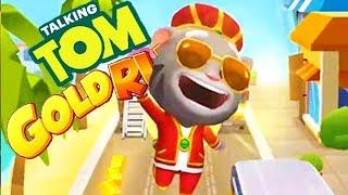 Talking Tom Gold Run King Tom Run Fullscreen |  Android Games Gameplay | Droidnation