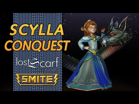 ScarfPlays Smite 681 - Slippery Slope - Scylla Mid Conquest