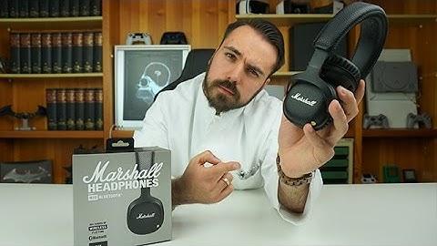 Kopfhörer für Sport & Reisen! - Marshall Mid Bluetooth Black - Dr. UnboxKing - Deutsch