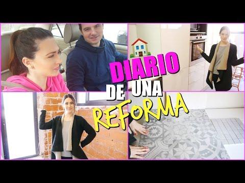 DIARIO DE UNA REFORMA 2# Todo más grande!! House Tour   Lizy P