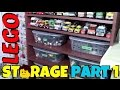 HOW I SORT & STORE MY LEGO PARTS COLLECTION - PART 1/4
