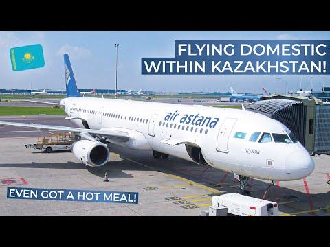 TRIPREPORT | Air Astana (ECONOMY) | Astana - Almaty | Airbus A321