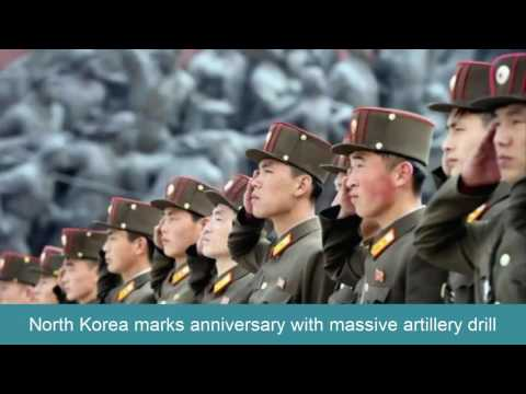 Breaking News Today | North Korea marks anniversary with massive artillery drill