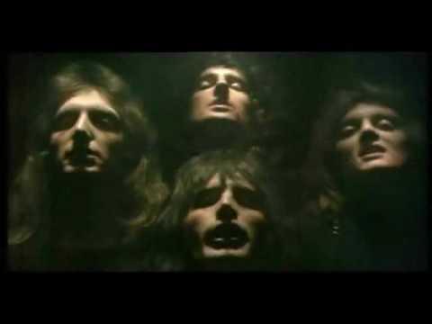 """QUEEN """"Bohemian Rhapsody"""" (Clip - 1975)."""