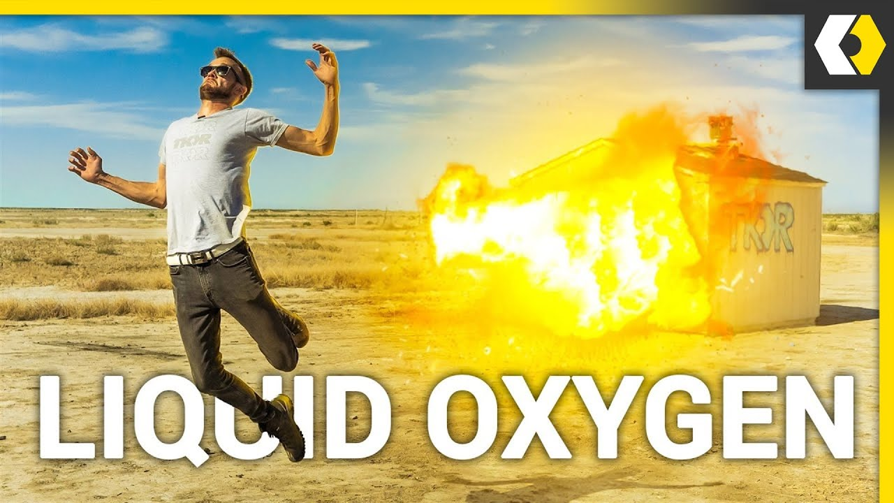 Download Why You Should NEVER Spill Liquid Oxygen
