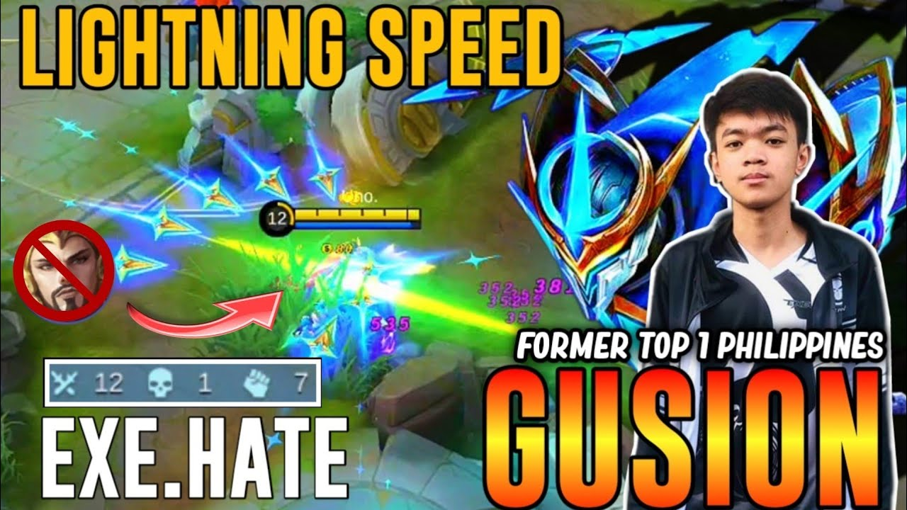 EXE.Hate Gusion Cosmic Gleam , Lightning Speed is Real!! HATE GUSION GAMEPLAY