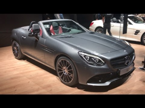 mercedes benz slc 180 2016 in detail review walkaround interior exterior youtube. Black Bedroom Furniture Sets. Home Design Ideas