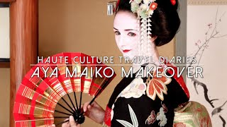 Giesha & Maiko Makeover in the heart of Gion Quarter, Kyoto, Japan
