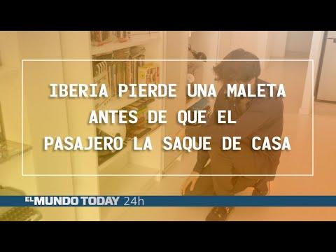 Iberia logra perder una maleta antes de que el pasajero la saque de casa | El Mundo Today 24H