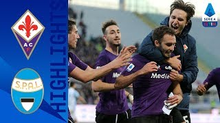 Fiorentina 1-0 Spal | Pezzella Wins It For The Viola! | Serie A