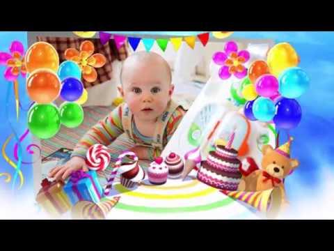 Видео из фото День рождения сына