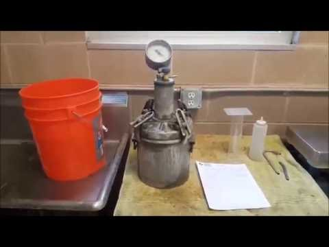 ASTM C231: Testing Air Content of Concrete With a Type B Pressure