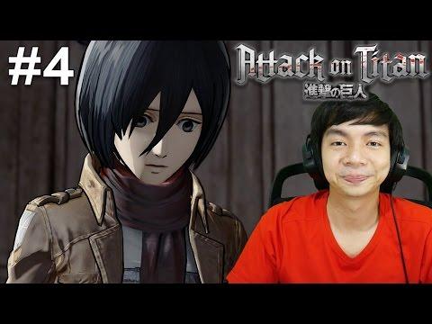Kesedihan Mikasa - Attack On Titan - Indonesia Gameplay #4