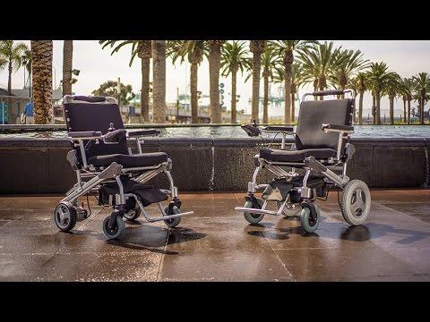 EZ Lite Cruiser Light Weight & Folding Electric Power Wheelchair - Deluxe Models