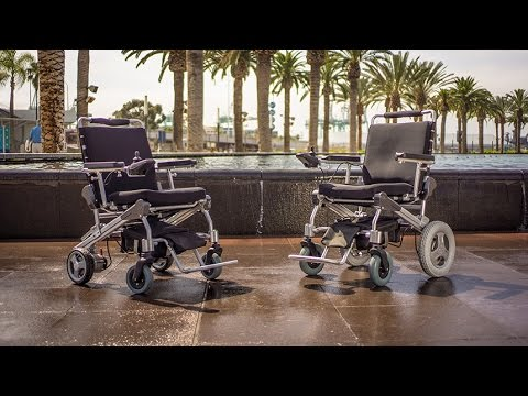 EZ Lite Cruiser Light Weight & Folding Electric Power Wheelchair - Deluxe Models