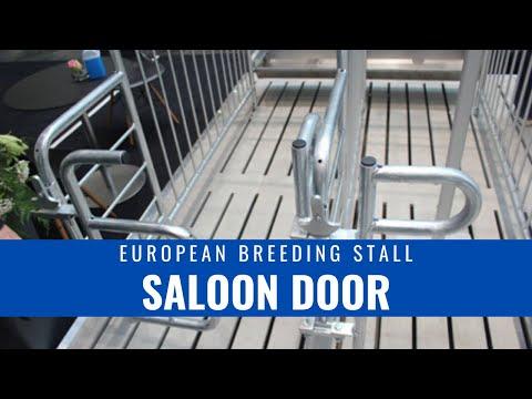 Hog Slat European Style Breeding Stall
