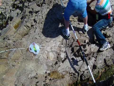 06/13/2010 Rock Fishing at Pescadero State Beach