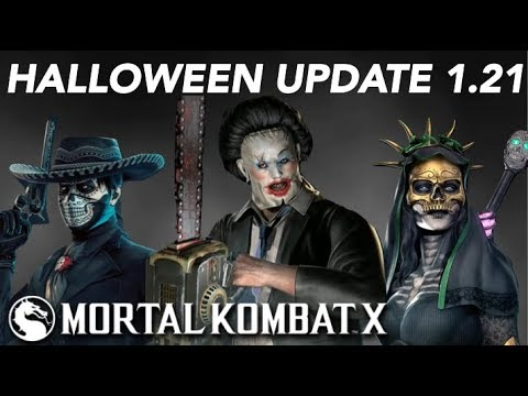 Mkx Mobile Halloween Update 2020 MKX Mobile Halloween Update 1.21   Leatherface, Day of the Dead