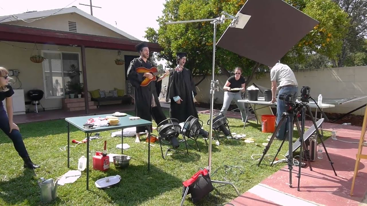 ALTERNATE ANGLE: The Graduation Song - A hidden behind the scenes video of Rhett & Link's The Graduation Song video.