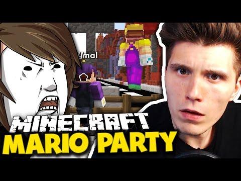 FLY HACKER = ARSCHLOCH - SORRY ABER IST SO! ✪ Minecraft Mario Party mit Germanletsplay