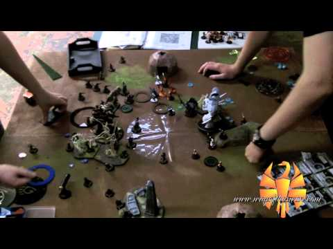 WotS Batrep 14 - Siege vs. Rahn 50 point Warmachine/Hordes Battle Report