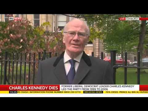 Sir Menzies Campbell Remembers Former Lib Dem Leader Charles Kennedy
