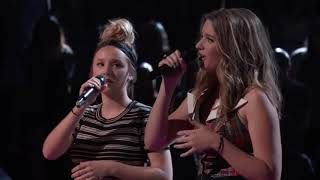"""Addison Agen vs Karli Webster: """"Girls Just Want to Have Fun"""" (The Voice Season 13 Battle) PART 1/2"""