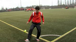 Coutinho takes Keepy Uppy Challenge