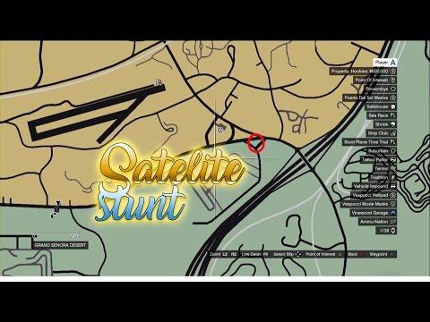 GTA5 Satellite stunt
