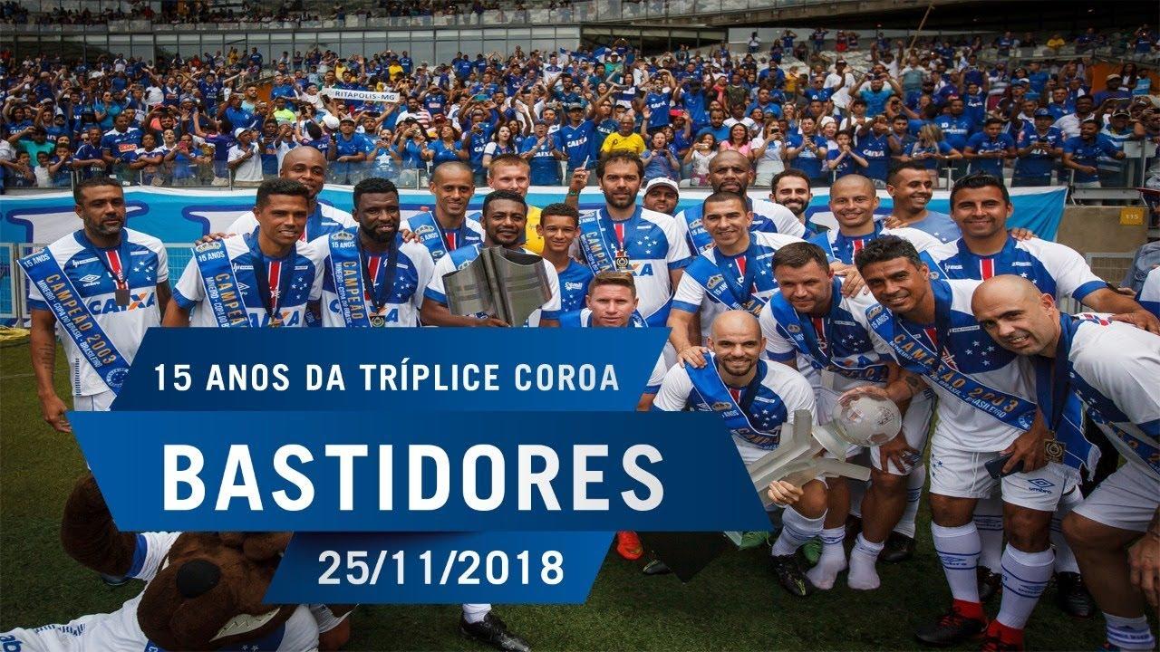 0cca4a5afb Bastidores  Time Mágico de 2003 x Cruzeiro Master - YouTube