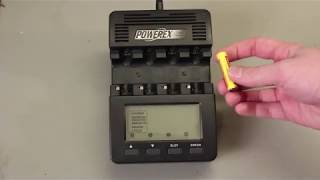 battery Charging with MAHA Powerex MH-C9000