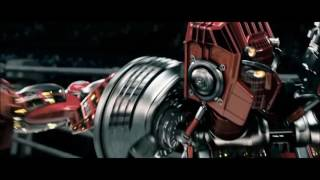 "Real Steel"" Atom Vs Twin Cities"" FullHD 1080p"