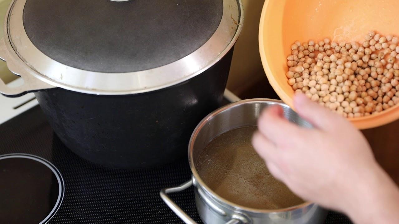 Как варить бульон, Суп гороховый с копчёной грудинкой