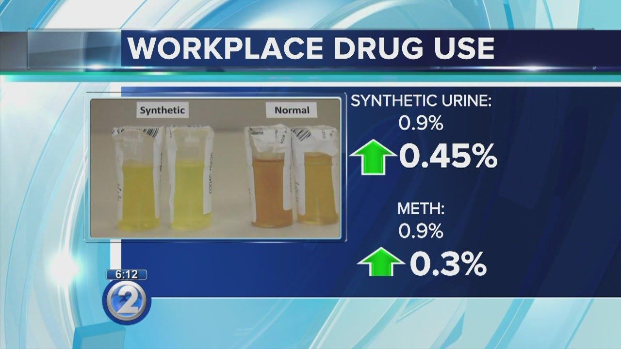 Synthetic urine, meth use rise in workforce drug testing