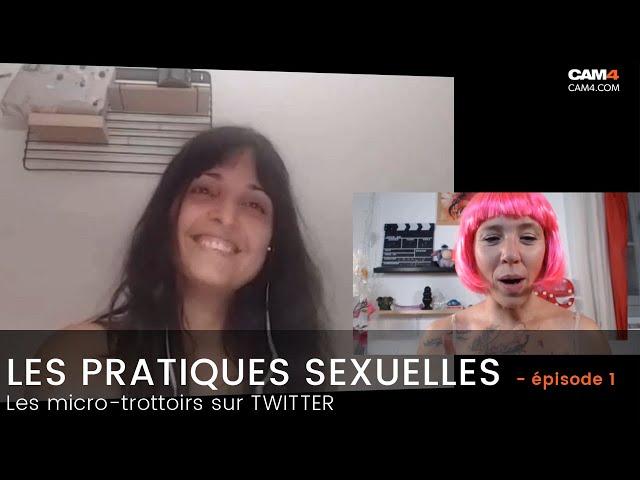 Les pratiques sexuelles ! Le micro-trottoir de Charlie! CAM4