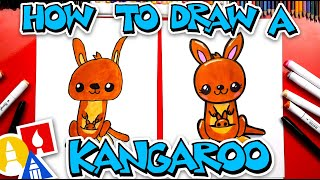 How To Draw A Carтoon Kangaroo