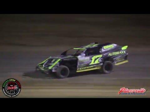 April 30, 2016 - Placerville Speedway - IMCA Sport Mod Highlights