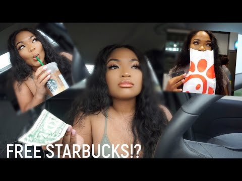 I TRIED LIVING OFF $1 FOR A DAY + HOW TO GET FREE STARBUCKS (THIS IS WHAT HAPPENED) | KIRAH OMINIQUE