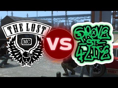The Lost MC VS Grove Street Families - ¿Quién ganaría? GTA