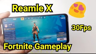 Realme x fortnite gameplay review 30Fps