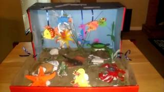 Shoebox Sea Life Habitat