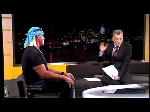 Hulk Hogan Interview on London Tonight 24th Jan 2012