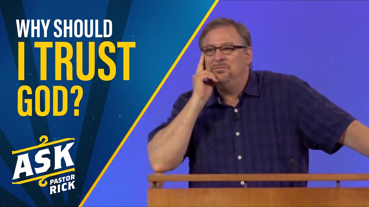 Why Should I Trust God? (The Invisible War)