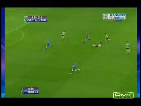 02 Glasgow Rangers Sporting Lisbon 2 Steven Whittaker